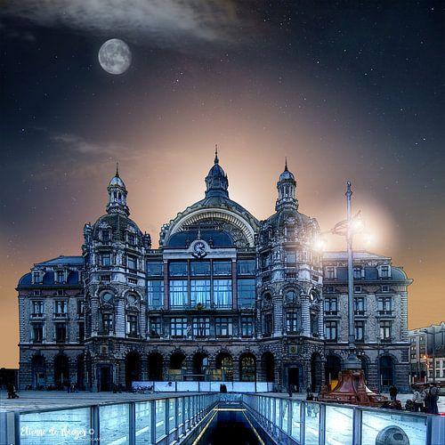 Centraal Station Antwerpen von etienne de maeyer