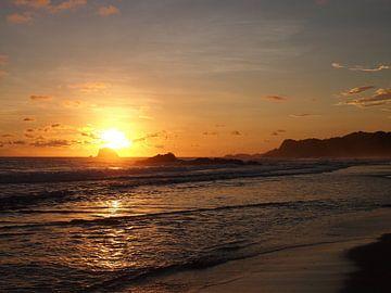 Sonnenuntergang in Zipolite von Patrick Hundt