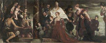 Die Madonna der Familie Cuccina, Paolo Veronese