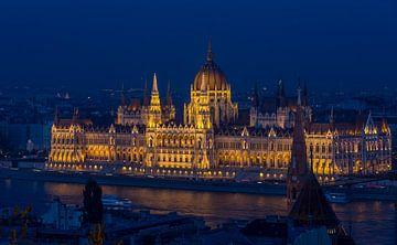 Boedapest, Parlement Wereldculturerbe in  Ungarn von Maarten Hoek
