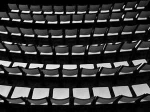 stoelen abstract