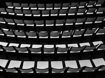 abstrakte Stühle von Corrie Ruijer