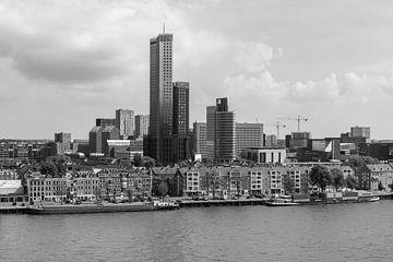 Die Maastoren und das Noordereiland in Rotterdam von MS Fotografie | Marc van der Stelt