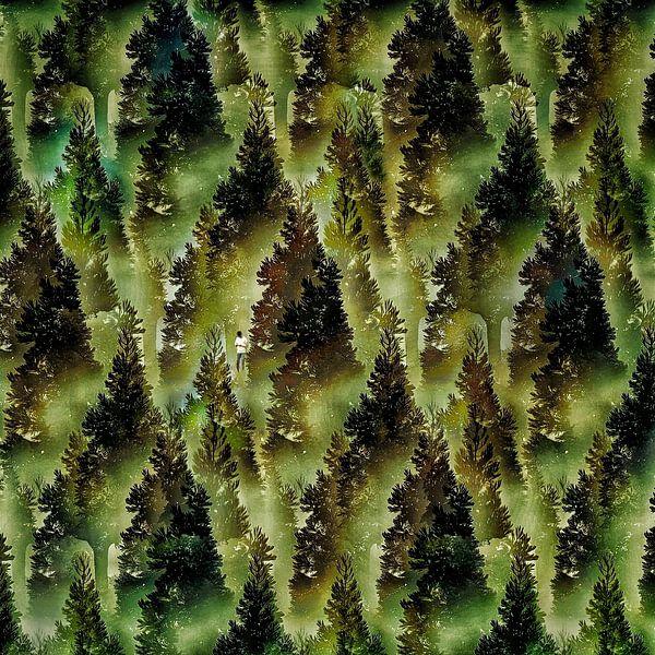 Verdwaald in het bos (en in z'n smartphone)