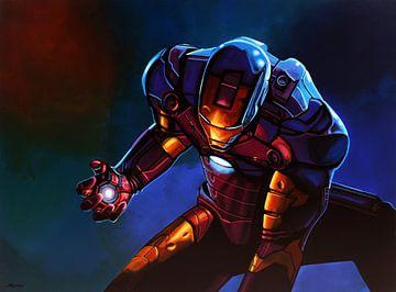 Iron Man Schilderij van Paul Meijering