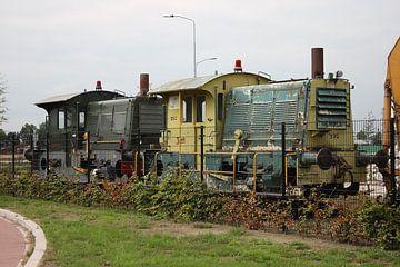 Uitgerangeerd trein. (4741) van Erik van Vliet