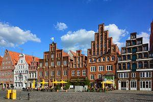 "The Square ""Am Sande"" in Lunenburg"