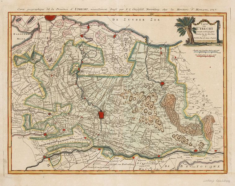 Carte von Utrecht van Rebel Ontwerp
