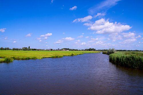 Nederlands landschap in Zuid Holland
