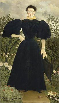 Portrait de Madame M., Henri Rousseau sur