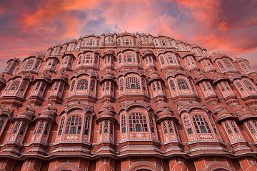 Hawa Mahal, Paleis der Winden, Jaipur