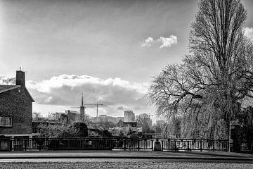 Die Hildo Kropbrug in Amsterdam Süd. von Don Fonzarelli