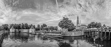 Breda - Spanjaardsgat - Haven - Zwart Wit van I Love Breda