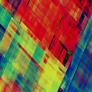 Abstracte Samenstelling 360 van Angel Estevez