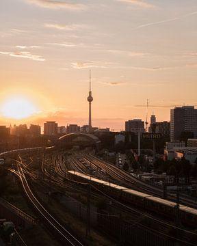 Fahrt in den Sonnenuntergang von wukasz.p