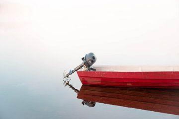 La bateau rouge sur Kimberley Jekel