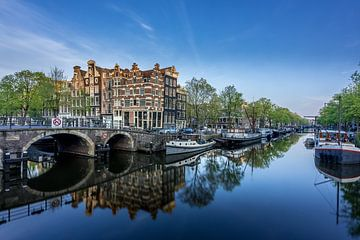 Brouwersgracht Amsterdam (NL) van Paul van der Zwan