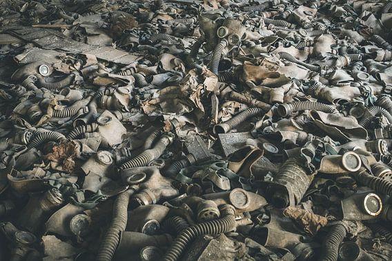 Verzameling Gasmaskers