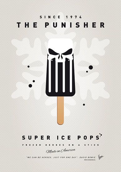My SUPERHERO ICE POP - The Punisher