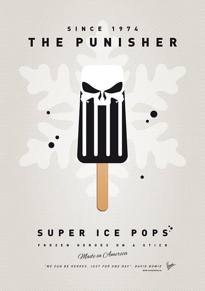 My SUPERHERO ICE POP - The Punisher van Chungkong Art