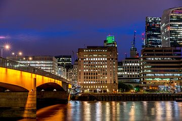 London bei Nacht. von Henri Boer Fotografie