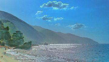 Monterosso - Cinque Terre van Dirk van der Ven