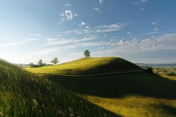 Heuvels landschap van Markus Stauffer