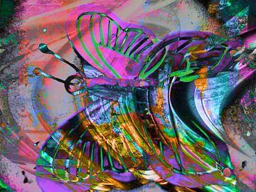 Schmetterling van Helmut Englisch