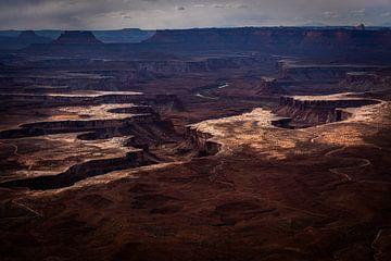 Monument Valley Utah USA Erdbeben von Theo van Woerden