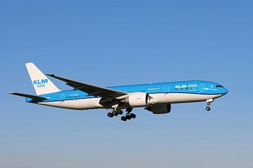 KLM PH BQN, Boeing 777-206, Nahanni Nationaal Park van Gert Hilbink