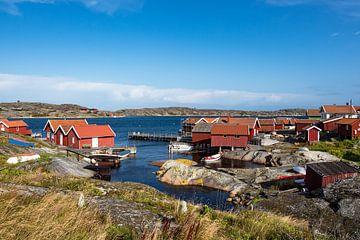 Blick auf die Insel Käringön in Schweden von Rico Ködder