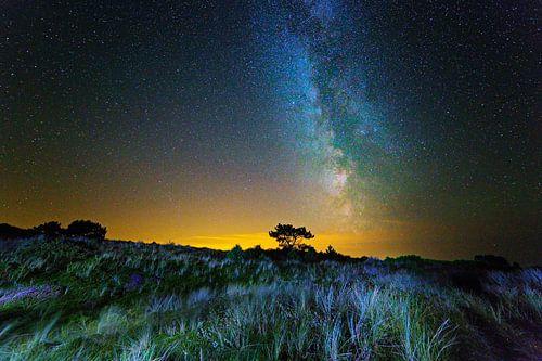 Melkweg boven Nederland van