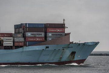Eingehendes Containerschiff! von Scheepskijker_Havenfotografie