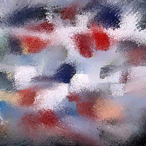Abstrait Basse Pointillisme V