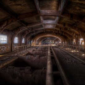 Usine sidérurgique abandonnée Terre Rouge (Urbex) sur Eus Driessen