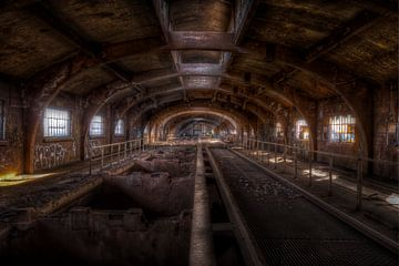 Verlassene  Stahlfabrik Terre Rouge (urbex) von