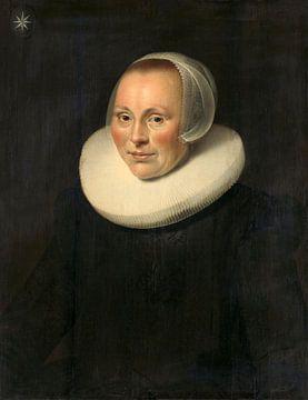 Bildnis einer Frau, anonym - 1633