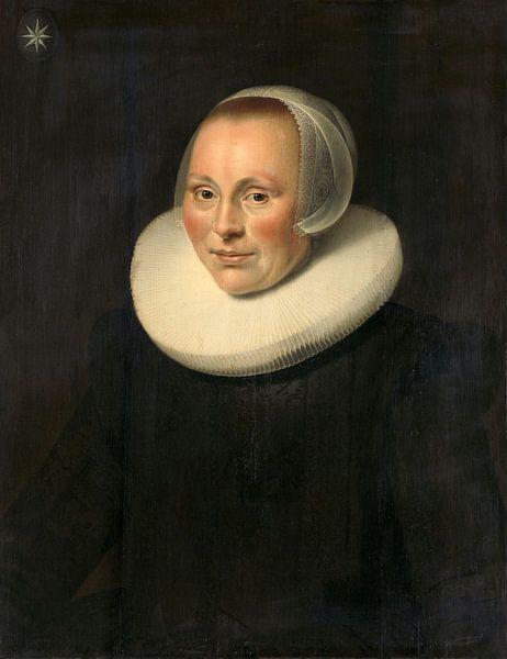 Bildnis einer Frau, anonym - 1633 von Het Archief