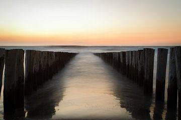 Zonsondergang Domburg, Zeeland van