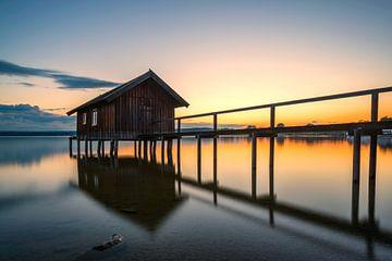 Romantik am Bootshaus von Denis Feiner