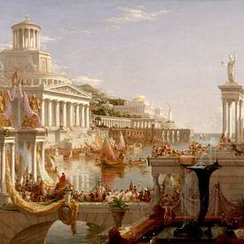La Consommation de l'Empire, Thomas Cole sur Meesterlijcke Meesters