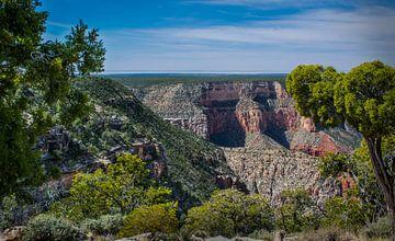 Waar de Grand Canyon begint, Arizona, VS van Rietje Bulthuis