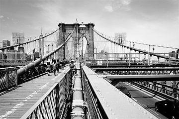 Brooklyn Bridge  sur Shirley Brandeis