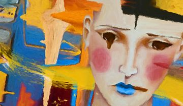 Daydream abstract van Marion Tenbergen