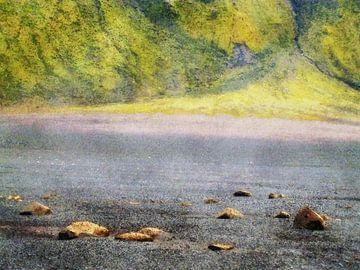 Op weg naar Emstrur, IJsland van Frans Blok