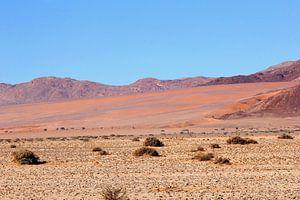 Landschap woestijn magische kleuren,  Namibie van