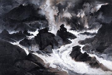 Thomas Moran~Die Lavaströme