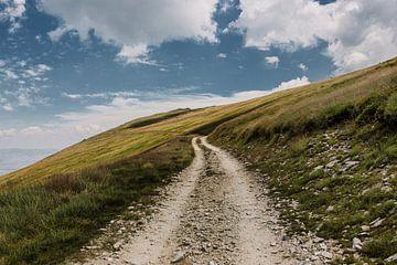 Wanderweg in den Bergen | Nord-Mazedonien | Landschaftsfotografie von Melody Drost