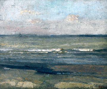 James Ensor. Grijze zee