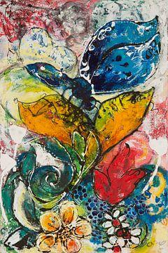 Butterfly Blue von Carmen Eisele